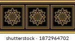 golden decorative baroque... | Shutterstock .eps vector #1872964702