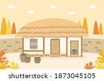 vector illustration of korean ... | Shutterstock .eps vector #1873045105