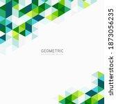 modern abstract geometric... | Shutterstock .eps vector #1873056235