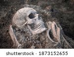 Medieval Human Remains Unearth...