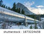 Big Pipeline In Grassi Lakes...