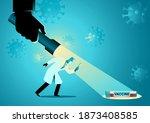 medical concept vector...   Shutterstock .eps vector #1873408585