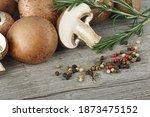 Fresh Champignon Mushrooms ...