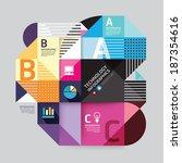 modern design minimal style... | Shutterstock .eps vector #187354616