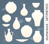 korean traditional vector... | Shutterstock .eps vector #1873587652