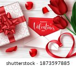 valentines vector background... | Shutterstock .eps vector #1873597885