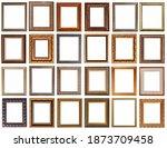 frames for paintings antique...   Shutterstock . vector #1873709458