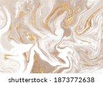 Beige Liquid Marble Canvas...
