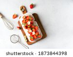 Summer Cake With Strawberry And ...