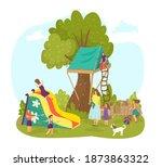 Playground At Nature Park ...