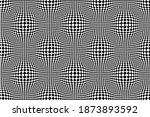 optical illusion checkered...   Shutterstock .eps vector #1873893592