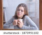 Unhappy Millennial Woman...