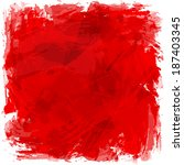 square vector artistic... | Shutterstock .eps vector #187403345