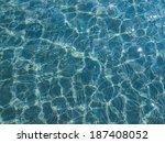 blue water texture useful as a... | Shutterstock . vector #187408052