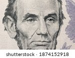 Abraham Lincoln Portrait In Us...
