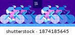 vector illustration. background ... | Shutterstock .eps vector #1874185645
