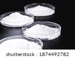 Small photo of Calcium carbonate is a chemical substance with the formula CaCO. Main alkaline component of rocks such as limestones. Result of the reaction of calcium oxide with carbon dioxide