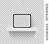 frame for picture on white...   Shutterstock .eps vector #1874569822