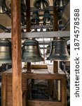 Carillon Bells. Bronze Antique...