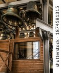Carillonneur Playing Bell Tower....
