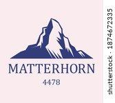Matterhorn  Swiss Alps....