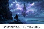 Magical Flowing Castle  ...