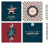 abstract labor day background