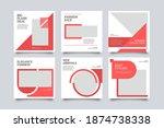 modern promotion social media... | Shutterstock .eps vector #1874738338
