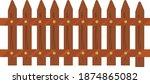 Small Fence  Illustration ...