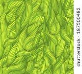 seamless pattern of leaves | Shutterstock .eps vector #187500482