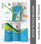 tennis competition tri fold... | Shutterstock .eps vector #187502642