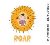 Funny Cute Scandinavian Lion...