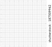 Square grid millimetre graph paper background. Vector illustration.