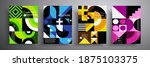 abstract cover vector...   Shutterstock .eps vector #1875103375