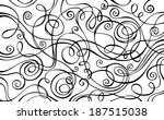 abstract vector decorative... | Shutterstock .eps vector #187515038