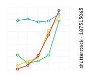 flat diagram. abstract... | Shutterstock .eps vector #187515065