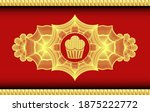 linear currency decoration... | Shutterstock .eps vector #1875222772