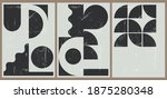 a set of three vintage... | Shutterstock .eps vector #1875280348