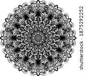 mandalas for coloring book.... | Shutterstock .eps vector #1875292252