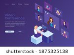 illustrations flat design... | Shutterstock .eps vector #1875325138