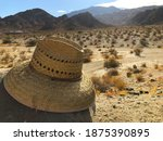 A Shot Of A Lonely Straw Hat...