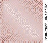 vector seamless pattern. rose... | Shutterstock .eps vector #1875445465
