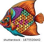 the illustration of art surgeon ...   Shutterstock .eps vector #1875520642