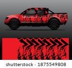 truck decal graphic wrap vector ...   Shutterstock .eps vector #1875549808