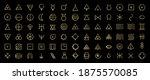 line art icon set of esoteric... | Shutterstock .eps vector #1875570085