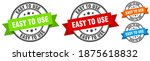 easy to use stamp. easy to use... | Shutterstock .eps vector #1875618832