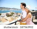 Happy Couple Of Tourists...