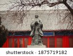 Monument To Confucius In The...