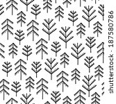 seamless stylish pattern with...   Shutterstock .eps vector #187580786