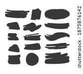 brush strokes text boxes....   Shutterstock .eps vector #1875876142